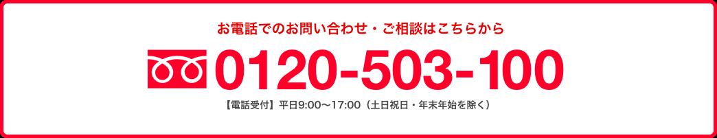 0120-503-100